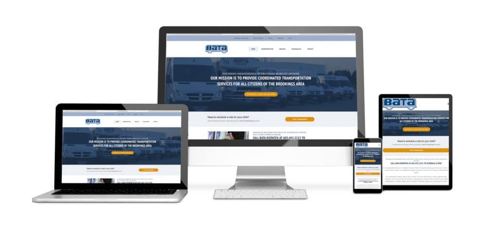 Image of website design